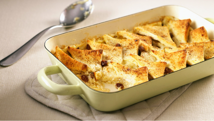 A Tasty Bread And Butter Pudding Recipe
