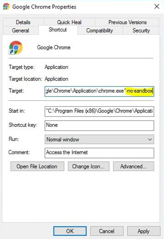 Google Chrome STATUS_INVALID_IMAGE_HASH Error