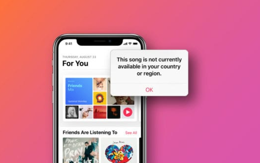 Fix Apple music error this song is not available in your Region