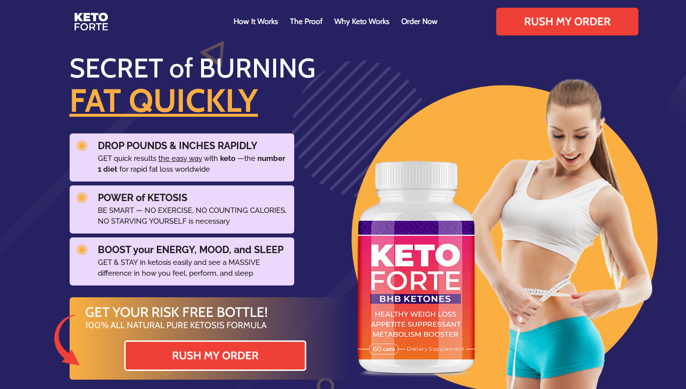 Keto Forte : Here's What Buyers Must Keep In Mind