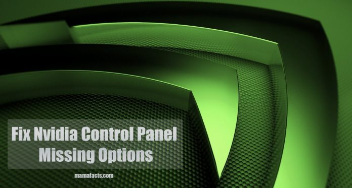 Fix Nvidia Control Panel Missing Options ( 7 Methods Fix ) Update