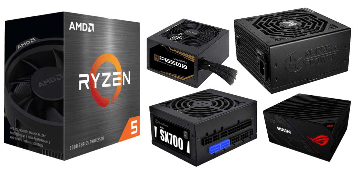 Best Power Supplies for Ryzen 5 5600X Builds: Let's Pump Up The Game.